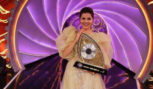 Rubina Dilaik winner of Big Boss season 14 hai (2021).