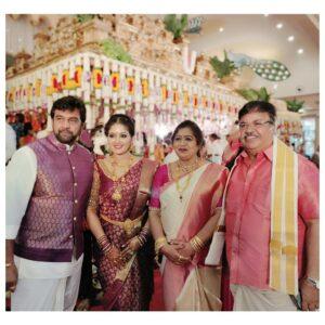 Meghana Raj Family children