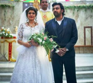 Chiranjeevi-Sarja-and-Meghana-Rajs-Wedding-Picture-1