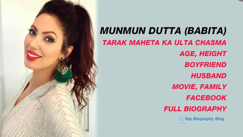 Munmun Dutta (bABITA)