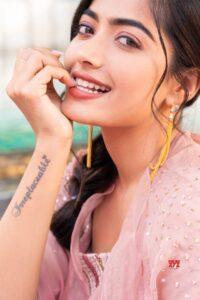 Rashmika Mandanna tatto