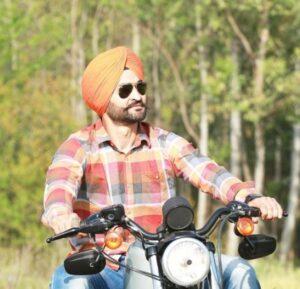 Sandeep-Singh-On-Harley-Davidson