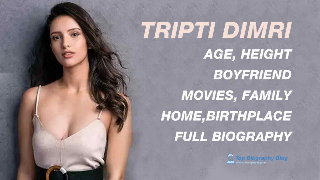 tripti dimri,age,wiki,height,wikipedia,biography,home,birthplace