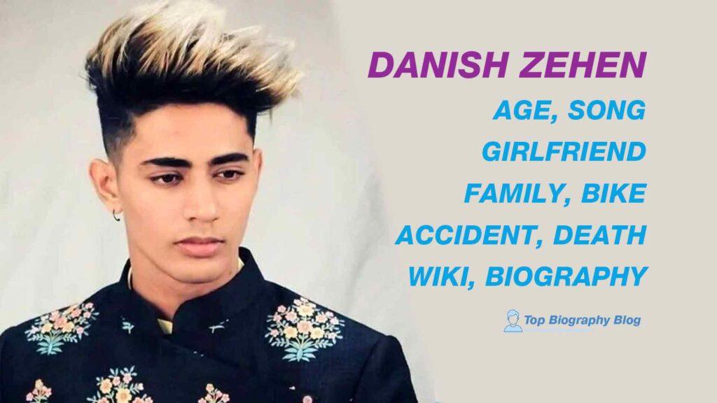 Danish Zehen Biography, Death, Gf, Age, Tattoo, Accident