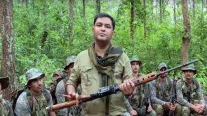 Major Gaurav Arya with his team