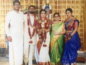 Ramya Pandian marriage photos