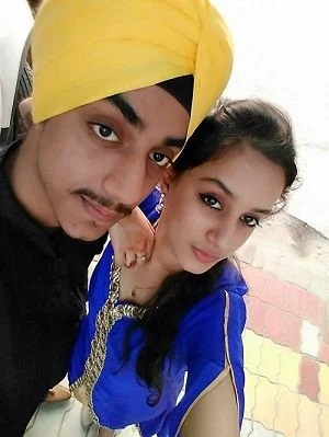 This image has an empty alt attribute; its file name is Sargun-Kaur-with-brother.jpg