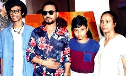 Sutapa Sikdar family