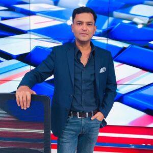 Major Gaurav in News Channel