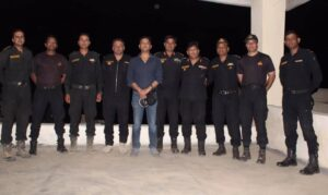 Major Gaurav Arya with army