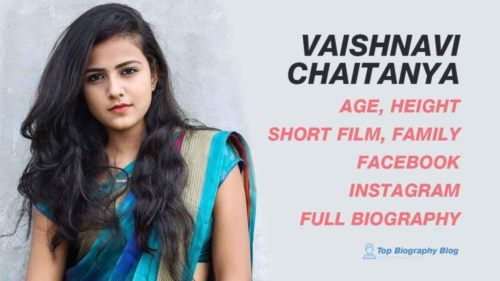 Vaishnavi Chaitanya