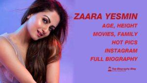 Zaara Yesmin biography